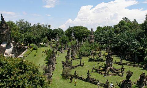 Parcul Buddha din Vientiane
