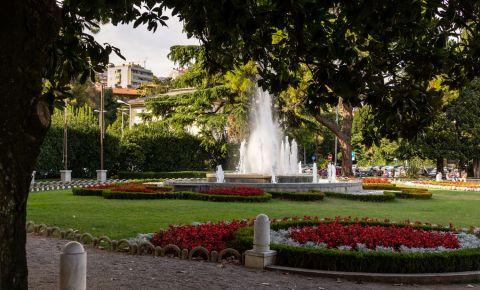 Parcul Central din Opatija