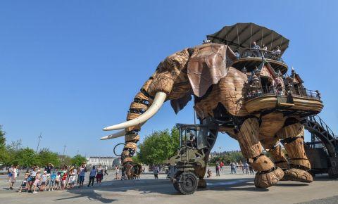 Parcul de Distractii Insula Masinilor din Nantes