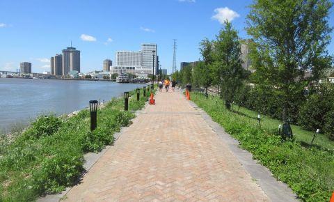 Parcul Levee din New Orleans