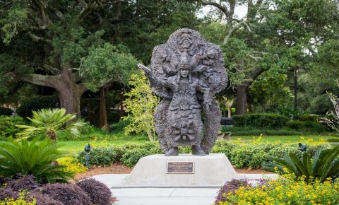 Parcul Louis Armstrong din New Orleans