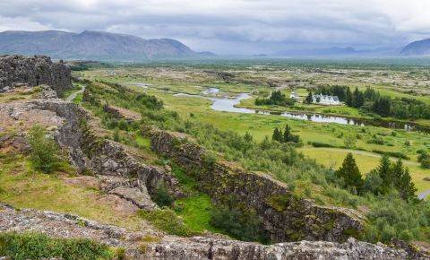 Parcul National Thingvellir din Reykjavik