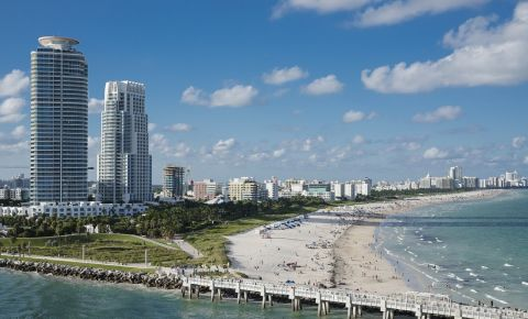 Parcul South Pointe din Miami