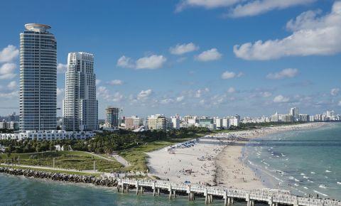 Parcul South Pointe din Miami