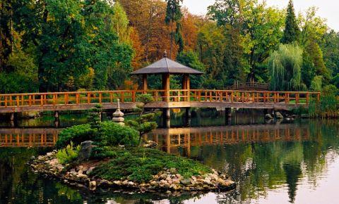 Parcul Szczytnicki din Wroclaw