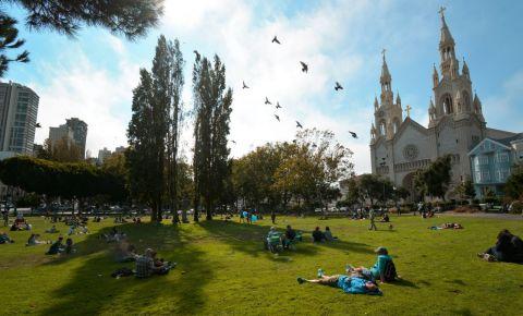 Parcul Washington Square din San Francisco