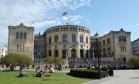 Parlamentul Norvegian din Oslo
