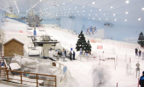 Partia de Ski din Dubai
