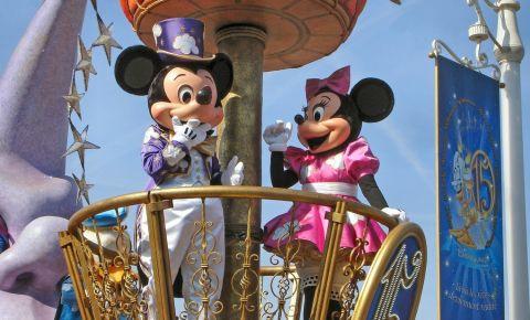 Personajele Disneyland