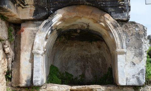Pestera Plutonium din Pamukkale