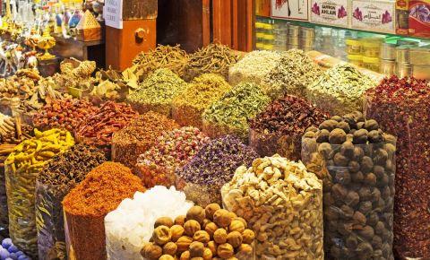 Piata de Condimente din Dubai