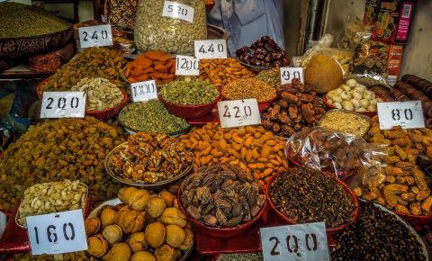 Piata de Condimente din New Delhi