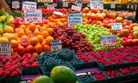 Piata Economy Market din Seattle