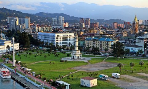 Piata Evropas Moedani din Batumi