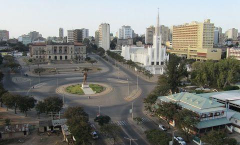 Piata Independentei din Maputo