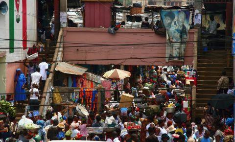 Piata Kejetia din Kumasi
