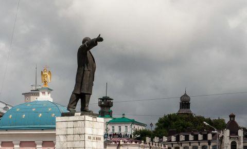 Piata Lenin din Tomsk