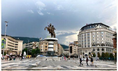 Piata Macedonia din Skopje
