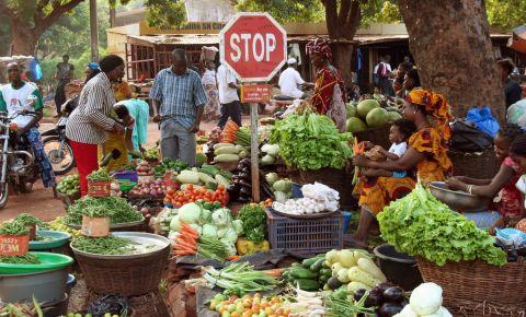 Piata Mare din Bobo Dioulasso