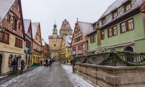 Piata Mica din Rothenburg ob der Tauber