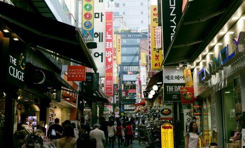 Piata Namdaemun din Seul