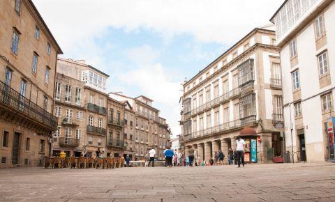 Piata Oraseneasca din Santiago de Compostela