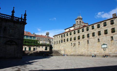 Piata Quintana din Santiago de Compostela