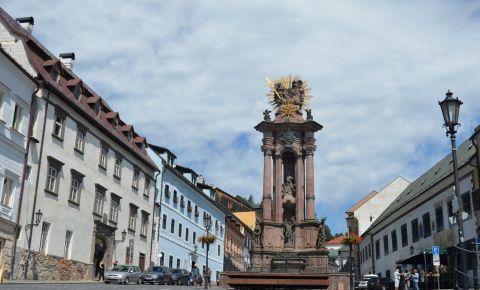 Piata Sfanta Treime din Banska Stiavnica