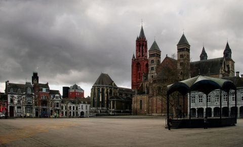 Piata Vrijthof din Maastricht