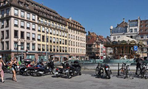 Piata Gutenberg din Strasbourg