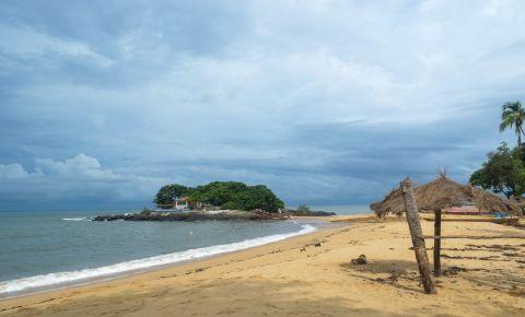 Plaja Lumley din Freetown