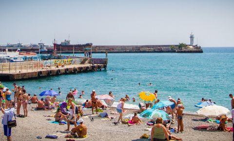Plaja Massandra din Yalta