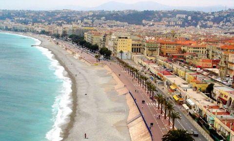 Plaja Publica Ponchettes din Nisa