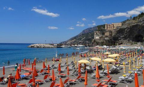 Plaja Spiaggia Grande din Amalfi