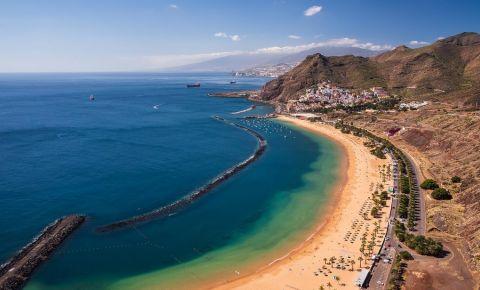 Plaja Teresitas din Tenerife