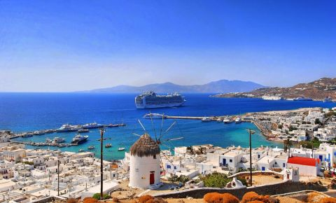 Plajele din Insula Mykonos