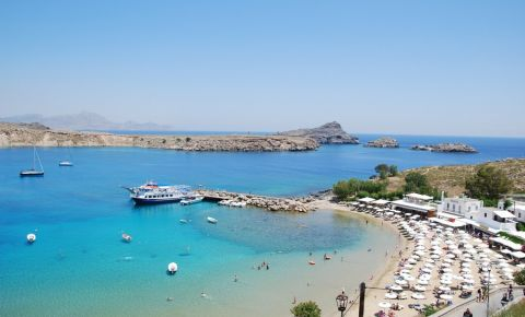 Plajele din Insula Rodos