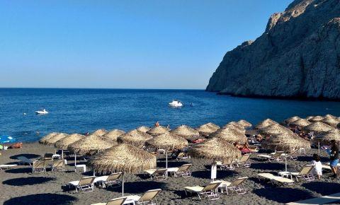 Plajele din Insula Santorini