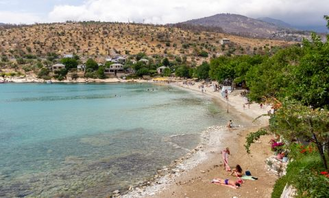 Plajele din Insula Thassos