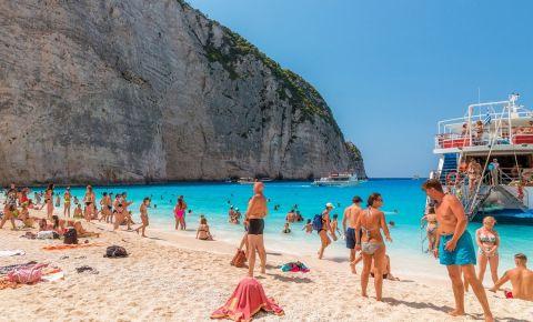 Plajele din Insula Zakynthos