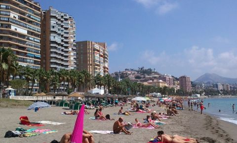 Plajele din Malaga