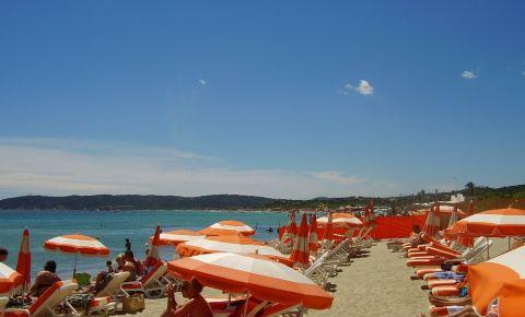 Plajele din Saint Tropez