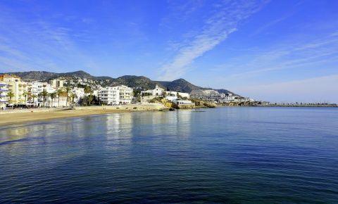 Plajele din Sitges