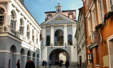 Poarta Dawn din Vilnius