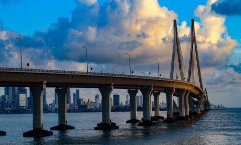 Podul Bandra - Worli din Mumbai