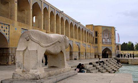 Podul Khaju din Isfahan