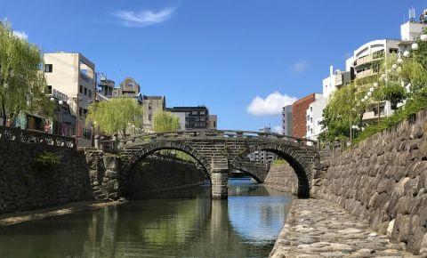 Podul Megane din Nagasaki