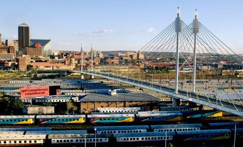 Podul Nelson Mandela din Johannesburg