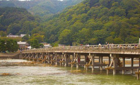 Podul Togetsu din Kyoto