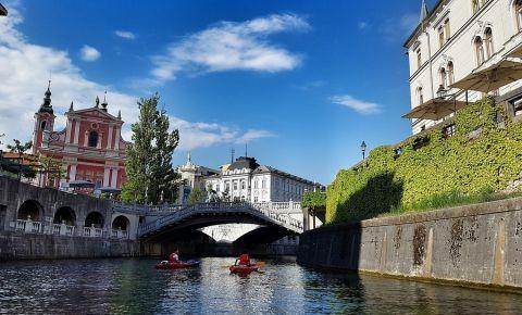 Podul Triplu din Ljubljana